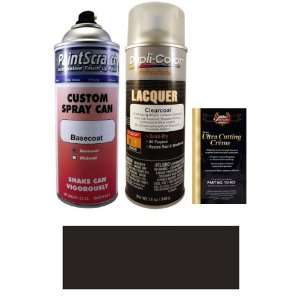 12.5 Oz. Black (matt) Spray Can Paint Kit for 2003 Jeep Grand Cherokee