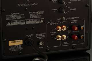 Sunfire True Subwoofer by Bob Carver Works, But Has Rattle PLEASE READ