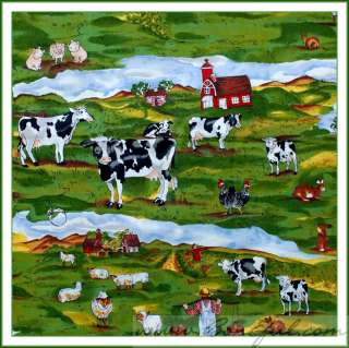 BOOAK Fabric Hoffman Celebrate Irish Clover Leaf Green St Patricks Day