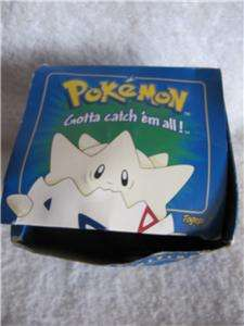 Pokemon 23K Gold Plated Trading Card Togepi Limited Edition Blue Box