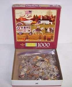 Charles Wysocki 1000 Piece Jigsaw Puzzle   Patriots Day