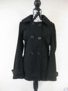 Womens Detatchable Hood Fleece Jacket Black (New w/ Tags) Large