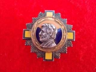 RARE WWII/Spanish Civil War Abraham Lincoln Brigade pin