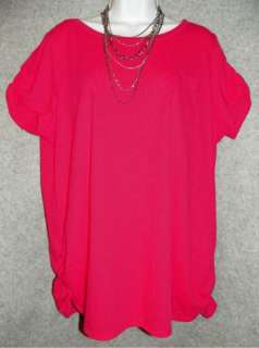 NEW JMS Womens Plus Size Fashion T Shirt Top 1X 3X 4X