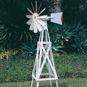 Farm Style Windmill, Plan No. 695 (Woodworking Plan): Home