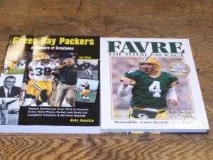 Green Bay Packers Brett Favre 2 book set NFL football