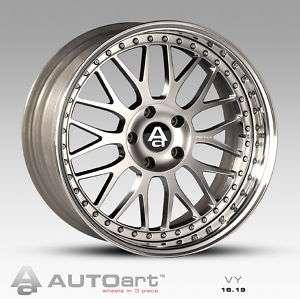 16 inch 3 piece AutoArt wheels. VW Audi Porsche Ferrari