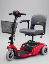 Active Care 1310 Spitfire 3 wheel Power Scooter (Red)