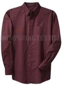 NWT NEW MENS LS LONG SLEEVE COTTON DRESS SHIRT 4XL 4X