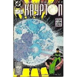 The World of Krypton, #3 of 4 (Comic Book) John Byrne Books