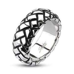 Multi Weaved Cast Band Ring   Size 13 West Coast Jewelry Jewelry