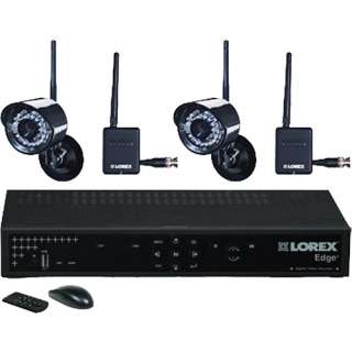 Corp 4 Channel EDGE+ Wireless Security Camera System   LH324501C2W