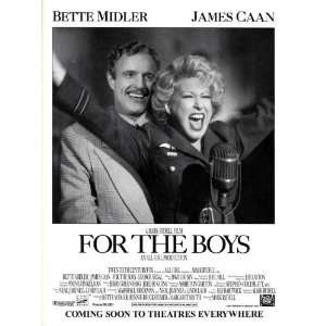 Movie B 27x40 Bette Midler James Caan George Segal: Home & Kitchen