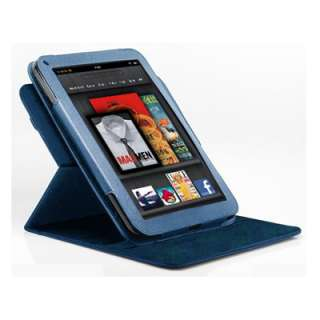360 Degree Rotary Leather Case Cover for  Kindle Fire 7 Tablet