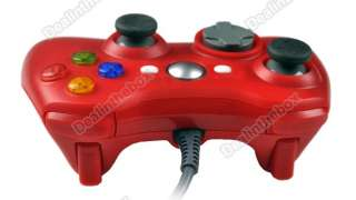 New Wired Game Joypad Controller For Xbox 360 Red Hot