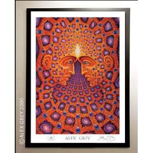 Framed One Poster Signed by Alex Grey: Everything Else