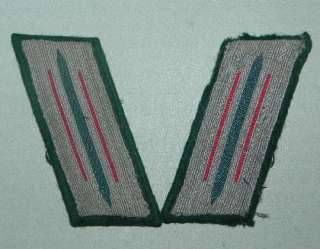 GERMAN WWII ARMY EM NCO COLLAR TABS