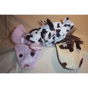 Hand Puppet Farm Set  Cow, Horse, Pig: Office Products
