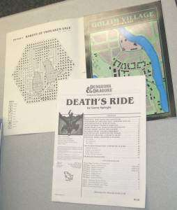dungeons dragons death s ride rpg book this is one d d companion game