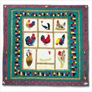 Patch Magic Rooster Twin Quilt QTRSTR 967042114181