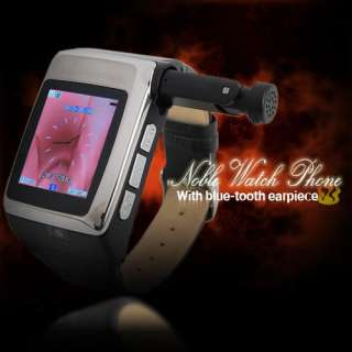 Unlocked Watch Cell Phone built in Bluetooth 2GB camera