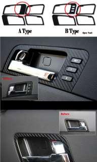 2010 2011+ Kia Optima [K5] Door Catchl Premium 3D Carbon Decals