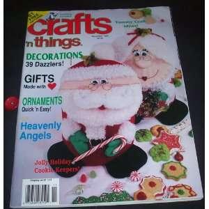 Things Magazine November 1993 Julie Stephani, Illustrated Books
