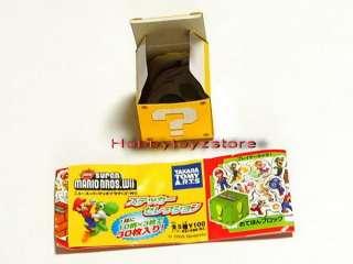 Tomy A.R.T.S Super Mario Bros Wii Sticker Set of 5 Box