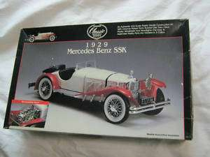 24 Lindberg Model Kit Mercedes Benz 1929 SSK No. 6601