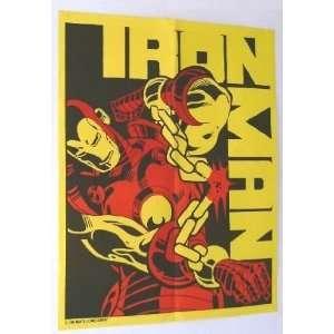 Rare Vintage 1983 Invincible Iron Man Marvel Comics Promo