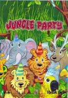 12 Jungle Animal Birthday Party Favor Goody Treat Bags