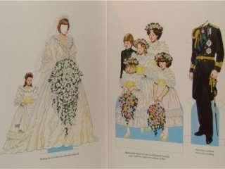 Princess Diana Paper Dolls + Princess Diana Beanie Baby Bear PE China