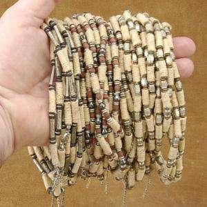 WholeSale Lot 36 Bali Beads,Hemp Tribal Choker Variety
