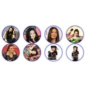 Set of 8 Miranda Cosgrove 1.25 Badge Pinback Button