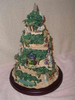 Thomas Kinkade Christmas Tree Glory to The Newborn King