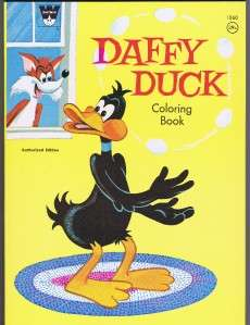 1971 Daffy Duck coloring book by Whitman EX+ to NM . Elmer Fudd