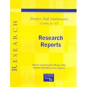 Prentice Hall Mathematics Program (9780138900274) Rick Culp Books