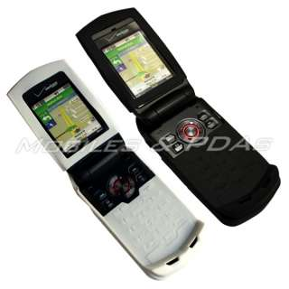 White/Black Silicone Case 4 Casio Hitachi GzOne Ravine