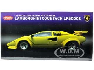 Brand new 118 scale diecast car model of Lamborghini Countach LP5000S