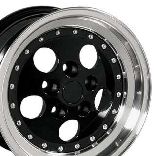 15x8 Black Wrangler Wheels Rims 31x10.5 Tires Fits Jeep