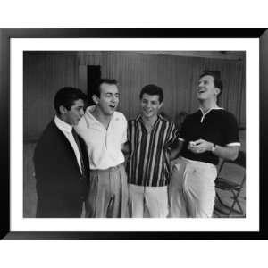 Singing Heartthrobs Paul Anka, Bobby Darin, Frankie Avalon