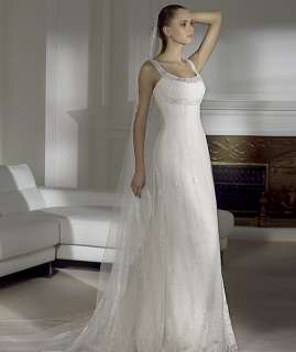 Elegant Beading New Wedding Dress Bridal Gown Custom