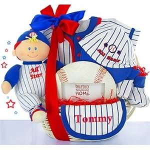 All American Boy Gift Basket Baby