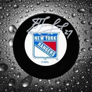 Alexei Kovalev New York Rangers Autographed Puck