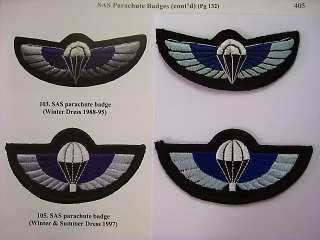 RARE GENUINE AUSTRALIA SAS SPECIAL FORCES AIRBORNE PARACHUTE WINGS