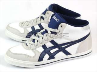 Asics Aaron MT CV White/Medieval Blue Classic Canvas 2011 Mid Top