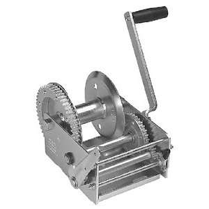 2 Speed Hand Winch, 2600 lbs: Sports & Outdoors