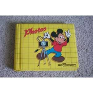 Walt Disney World Photo Album    Holds 4 x 5 Pictures