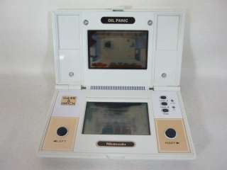 Nintendo Game & Watch OIL PANIC Multi Screen Boxed OP 51 Import JAPAN