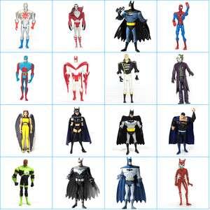 UNIVERSE JUSTICE LEAGUE Batman Superman Spider man Action Figure TOY